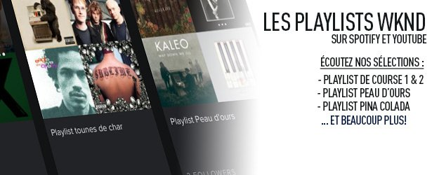 Les playlists WKND 91,9