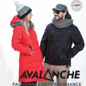 Avalanche manteau hiver femme