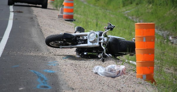 Accident de moto sur Henri-IV