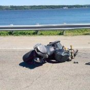 Grave accident de moto sur Dufferin-Montmorency